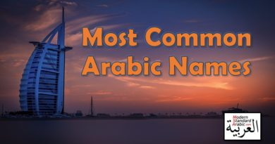 most common arabic names for males and female with meaning and translation